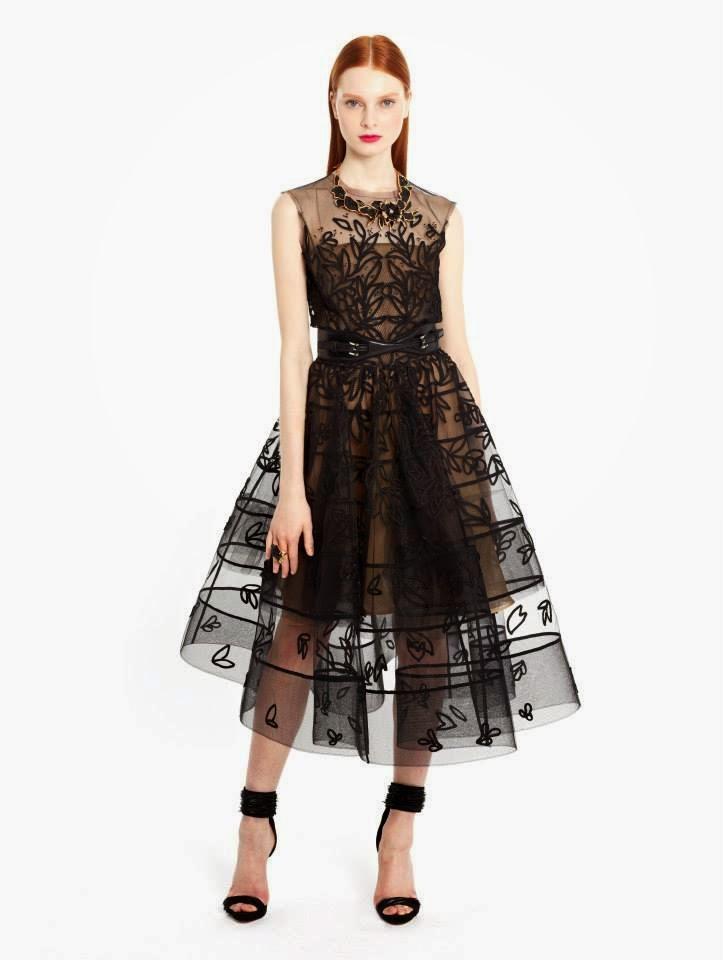 Western Dress For Women 2014-2015 By Oscar De La Renta  New Party ...