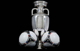 Uefa Euro 2012 Cup and Official Matchball Tango 12 HD Wallpaper