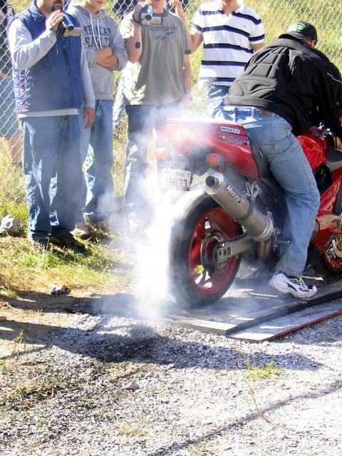 Kawasaki Zx12 Burnout