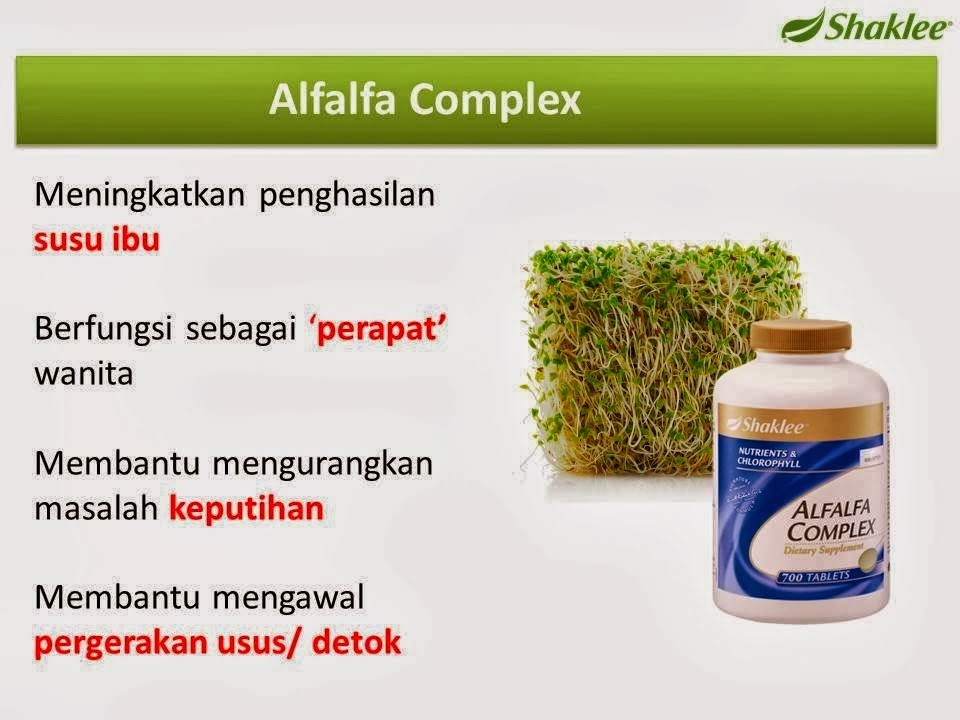 alfalfa shaklee promotion