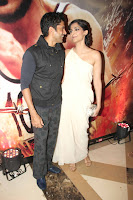 Farhan & Sonam @ Success bash of 'Bhaag Milkha Bhaag'