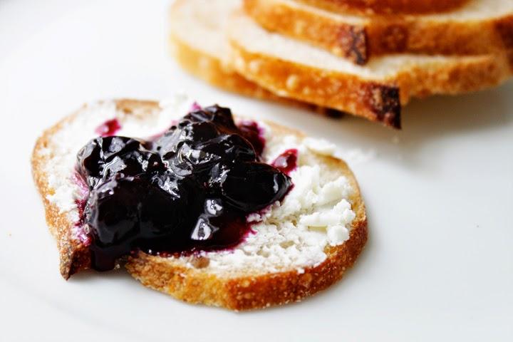 Blueberry Vanilla Compote
