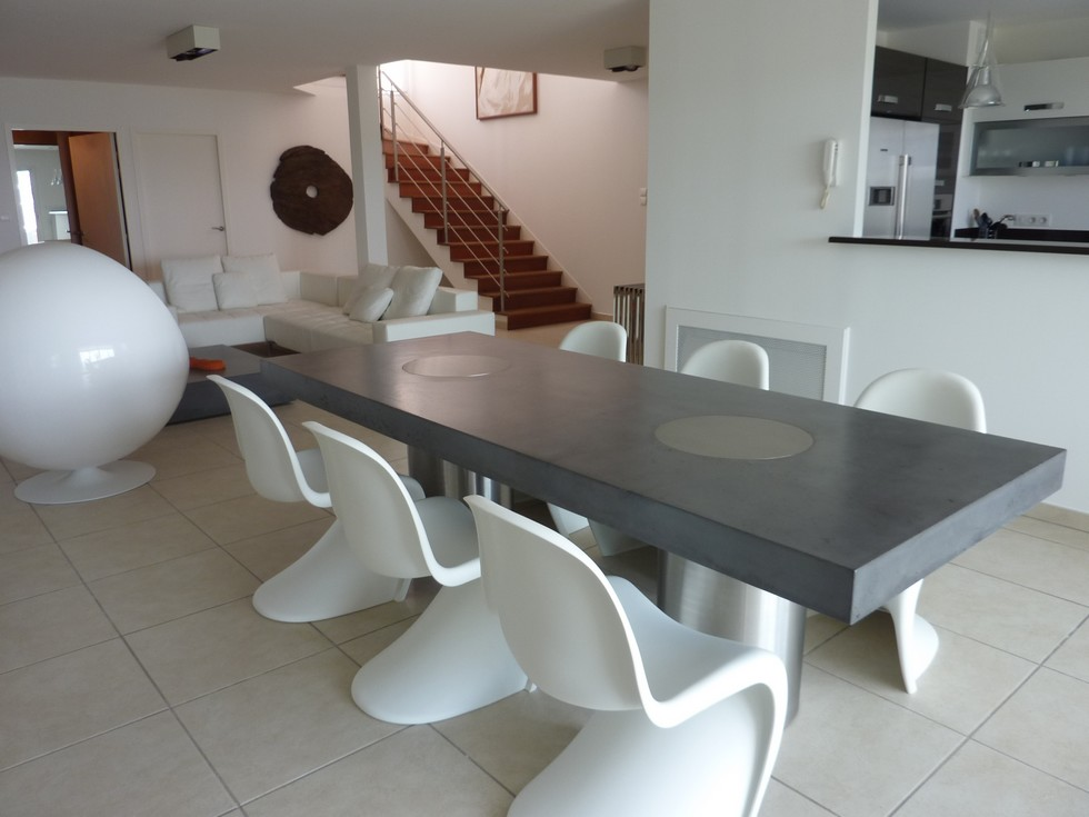 Table Beton: Table Beton Vulcani
