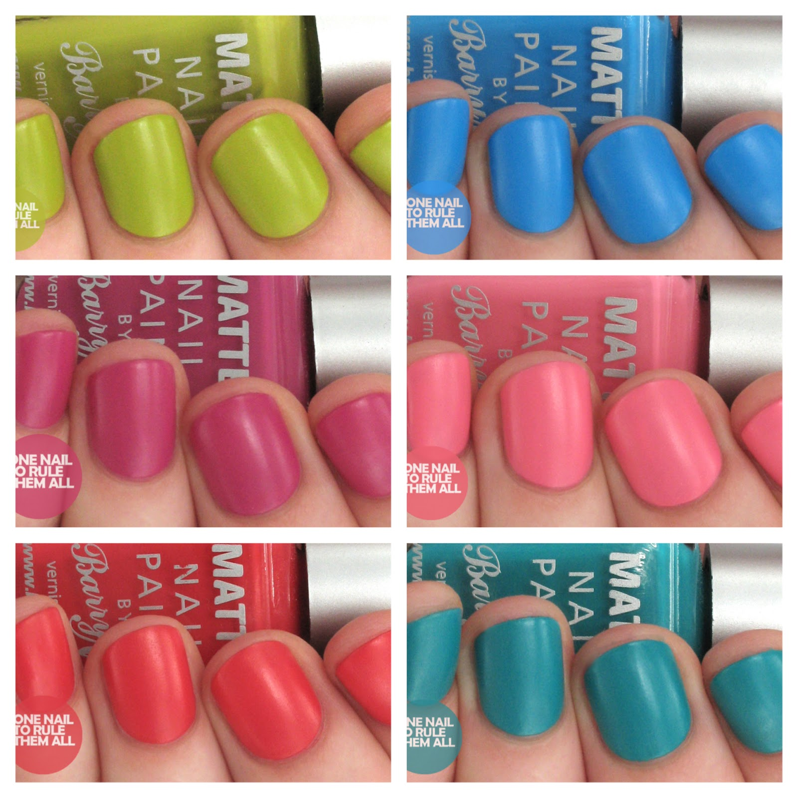 One Nail To Rule Them All Barry M Nail Art Pens Review: One Nail To Rule Them All: Barry M