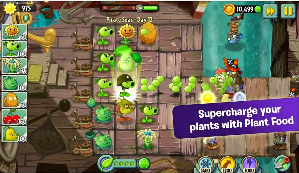 Plants Vs Zombies 2 v2.5.1 Apk