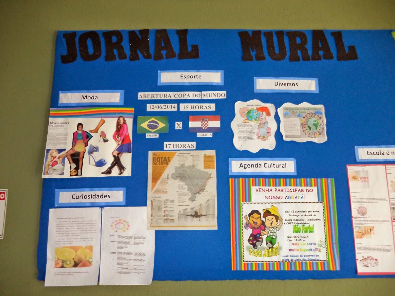 E e f d massolini jornal mural estudantil for Como elaborar un periodico mural escolar