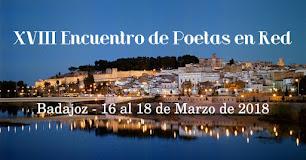 XVIII encuentro de Poetas en Red-Badajoz