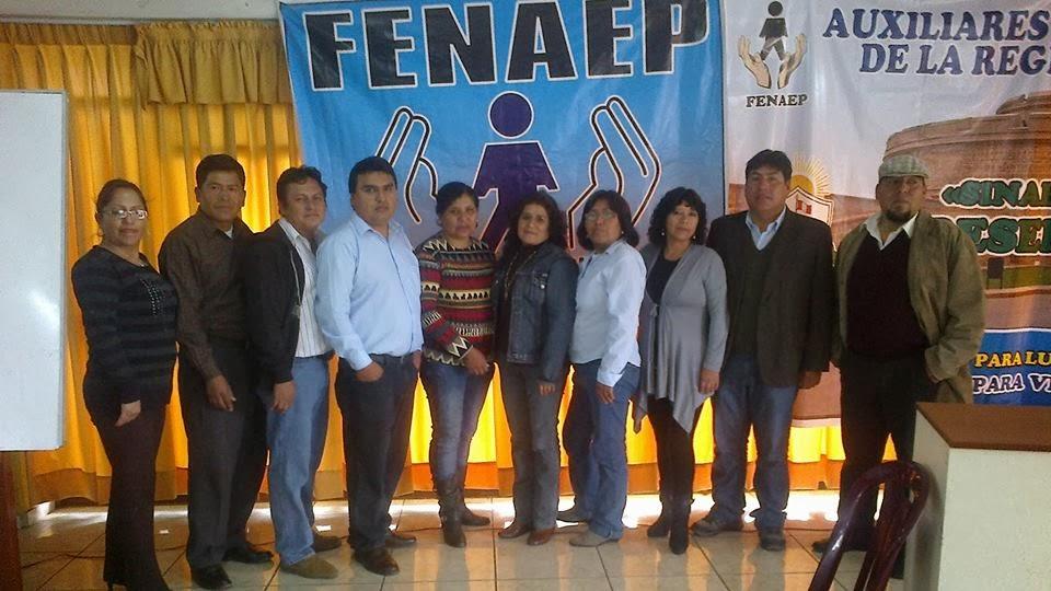 PIONEROS DE LA FENAEP