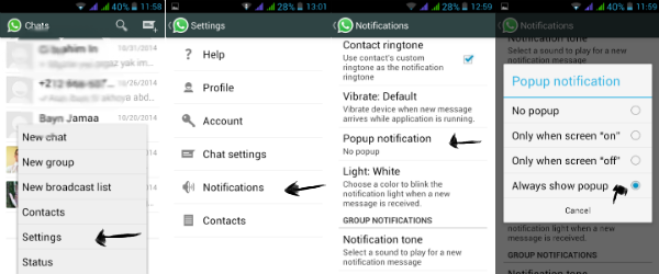 android app, android, whatsapp, notifications, whatsapp notifications,