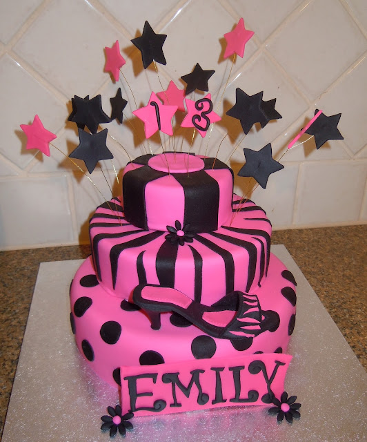 Birthday Cake Images Emily : Marianna s Caking Me Crazy: Happy 13th Birthday Emily.....