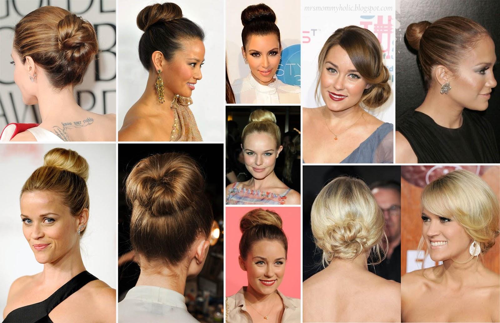 MrsMommyHolic: Easiest Hairstyle Ever: The Donut Bun