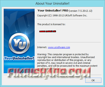 Your Uninstaller! 7.5.2012.12 Full Key