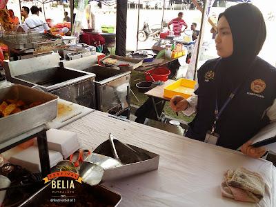 PANAS Food Valley FBP2015 Diserbu Pejabat Kesihatan