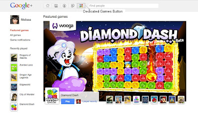 google plus games share