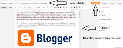 Buat Blog Di Blogger Lengkap Dengan Gambar4