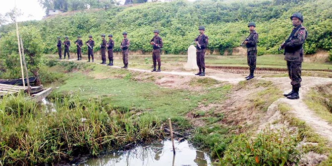 Myanmar Forced to hand over the Body of BGB Personeel