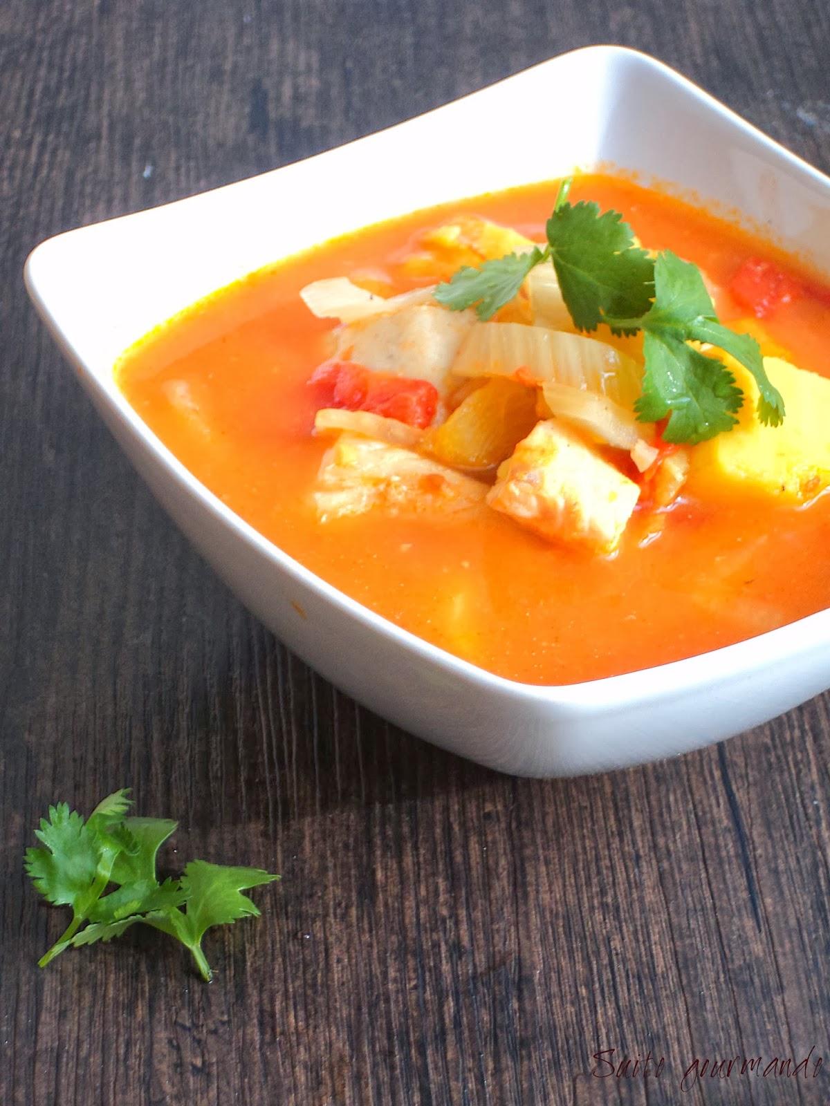 soupe au poisson patate douce et fenouil blogs de cuisine. Black Bedroom Furniture Sets. Home Design Ideas