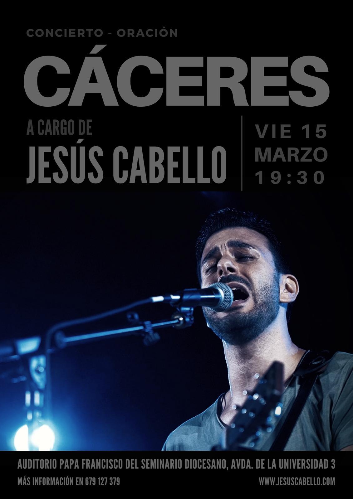 CONCIERTO DE JESÚS CABELLO