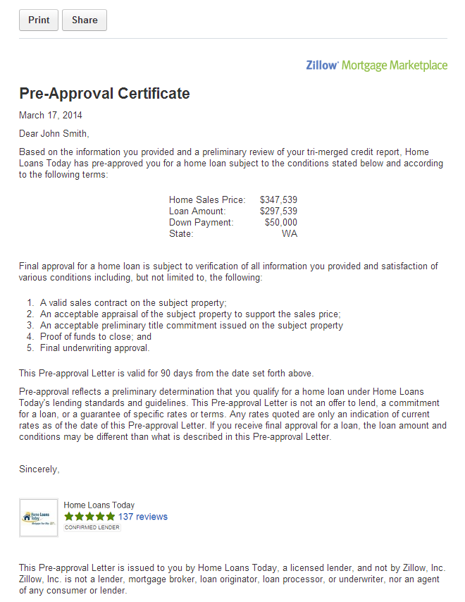 Pre-approval - How To Get Pre Approved For A House - House Information Center