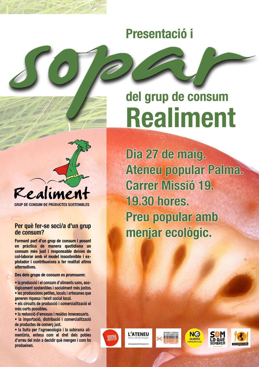 Presentació i sopar del grup de consum Realiment (27-05-11)
