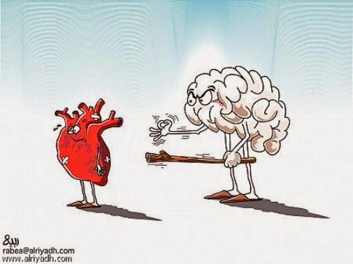 حوار مابين العقل والقلب