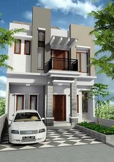 model rumah minimalis 2 lantai on Rumah Minimalis –Harga rumah sekarang ini terbilang sangat mahal ...