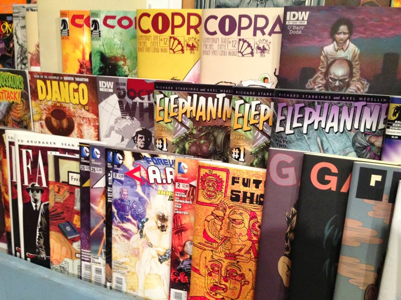Desert Island Comic Book store in Brooklyn