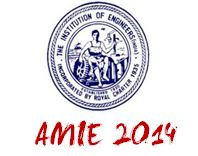 AMIE Exam Dates 2014
