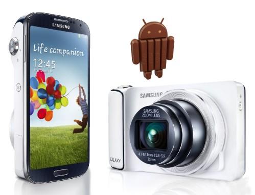 Iniziato l'aggiornamento Android Kitkat per Samsung Galaxy S4 Zoom