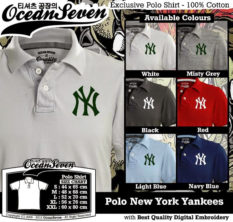 Kaos Polo New York Yankees