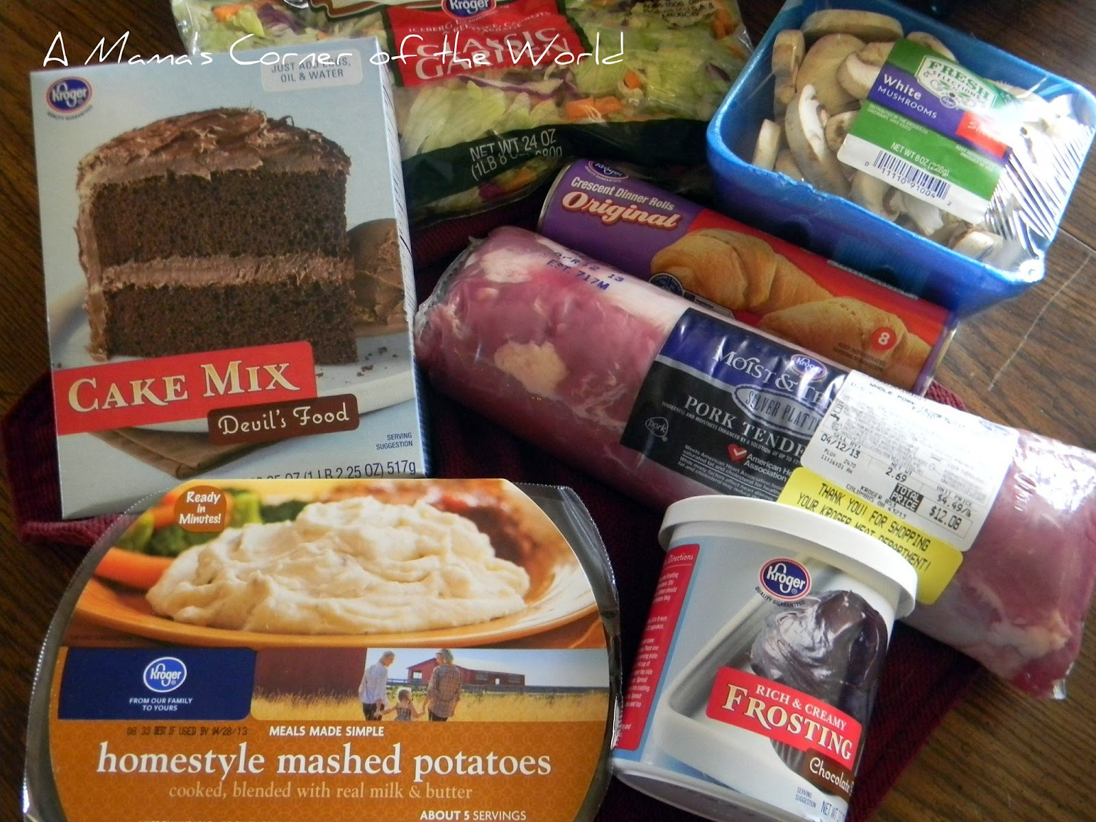 Kroger brand product reviews quick and easy spring dinner a mama s