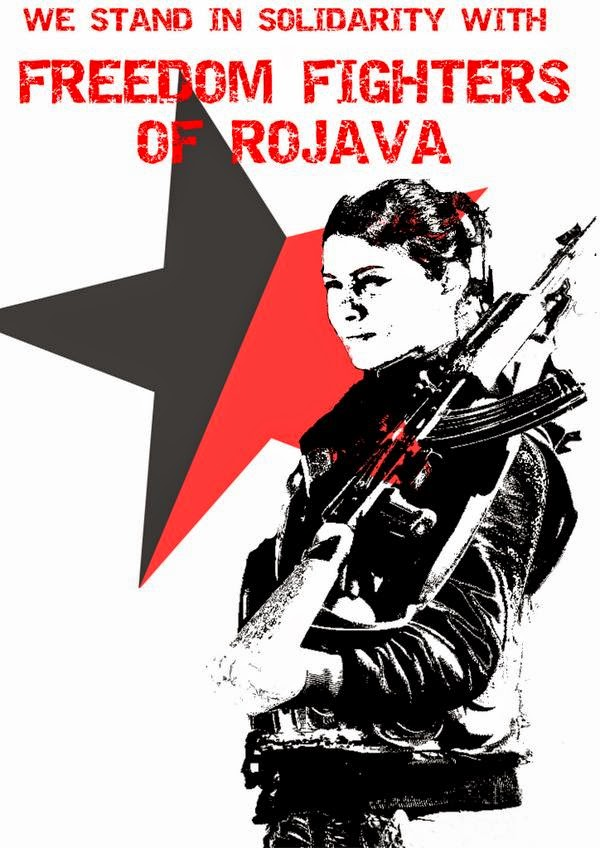 Support The Rojava Revolution!