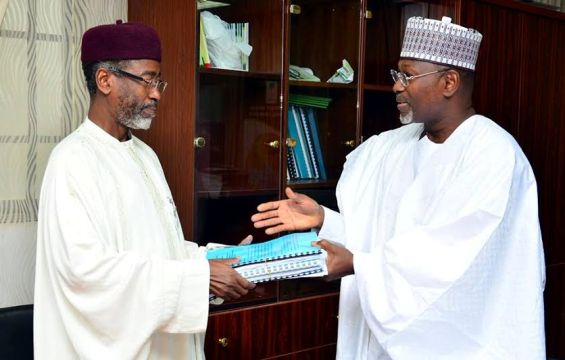 INEC chairman hands over today, view photos below!