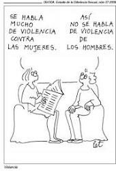 Què és per un patriarca la violència domèstica? La violència que domestica la dona.