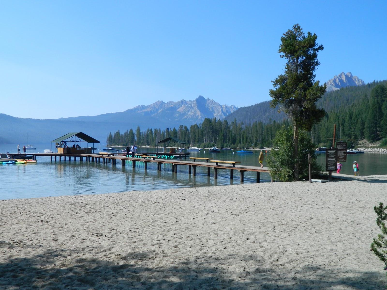 Living In Idaho Redfish Lake Marina