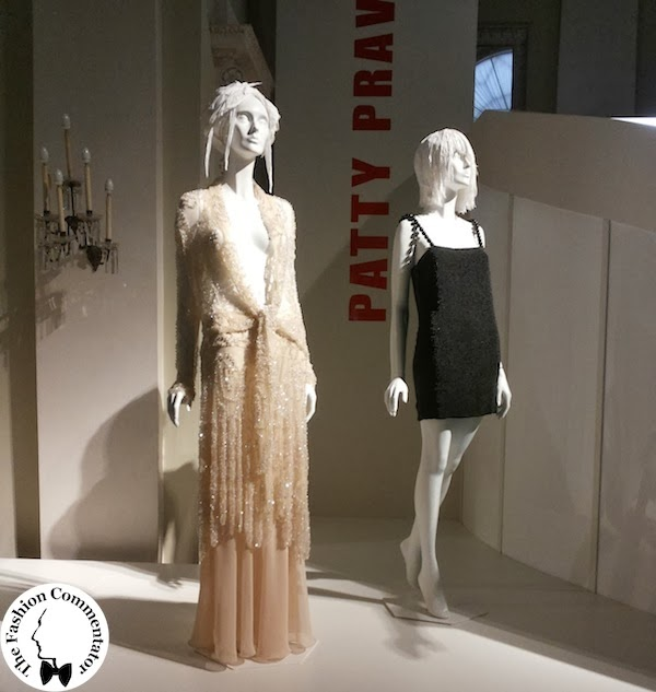 Donne protagoniste del Novecento - Patty Pravo - Gucci dress for Sanremo 1987; Roberto Cavalli dress for Sanremo 2002 - Galleria del Costume Firenze