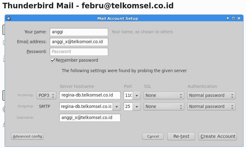 ibm ispim setup thunderbird email client ibm ispim