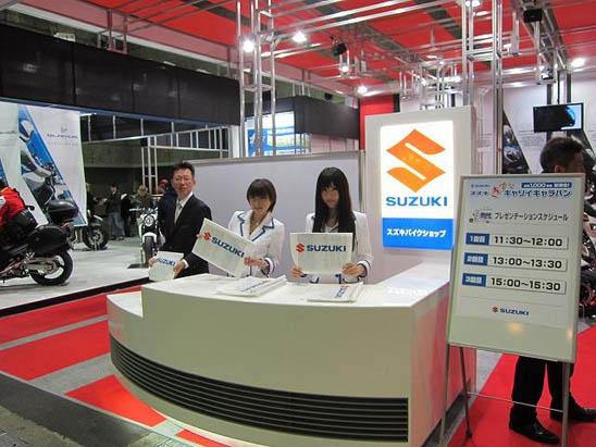 大阪モーターサイクルショウ 2012