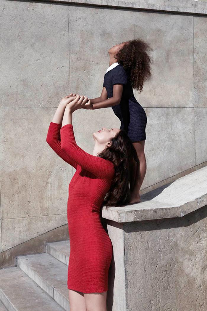 Anna de Rijk for Petit Bateau 2012 Collection