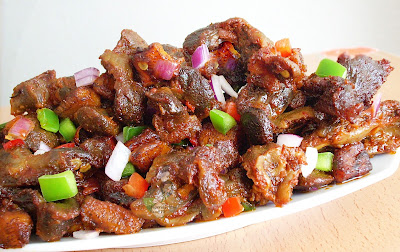 dodo gizzards, Gizdodo recipe,Nigerian Gizdodo recipe,Gizzards and Plantains