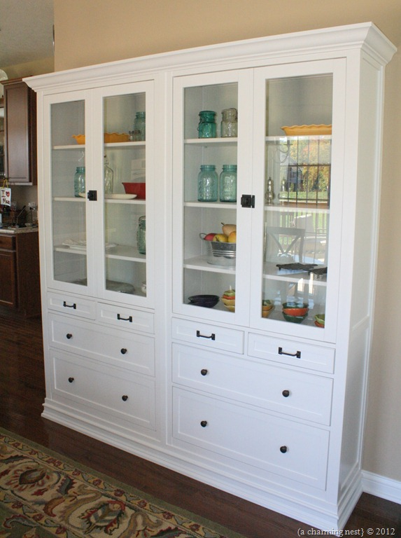 Turning ikea hemnes into built ins get home decorating for Get a home built