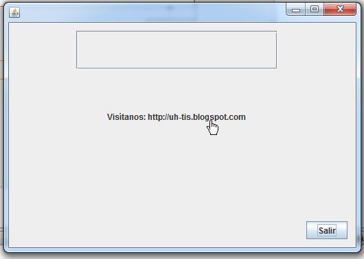 jlabel después de haber modificado la propiedad cursor