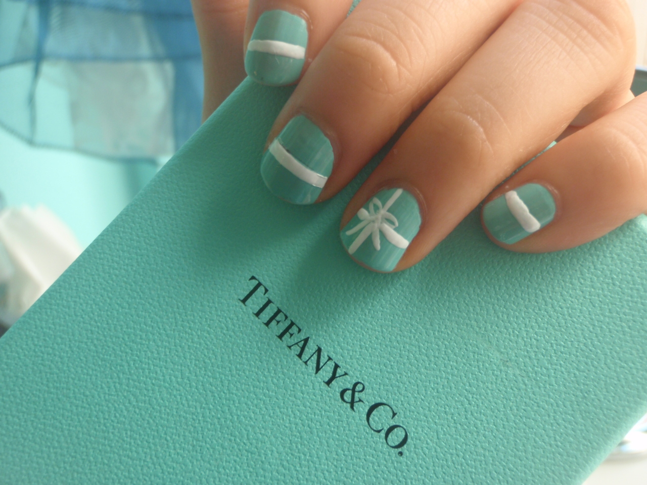 How To Tiffany And Co Nails