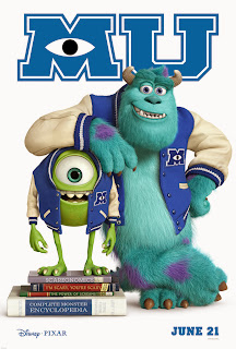 Poster Film MONSTERS UNIVERSITY