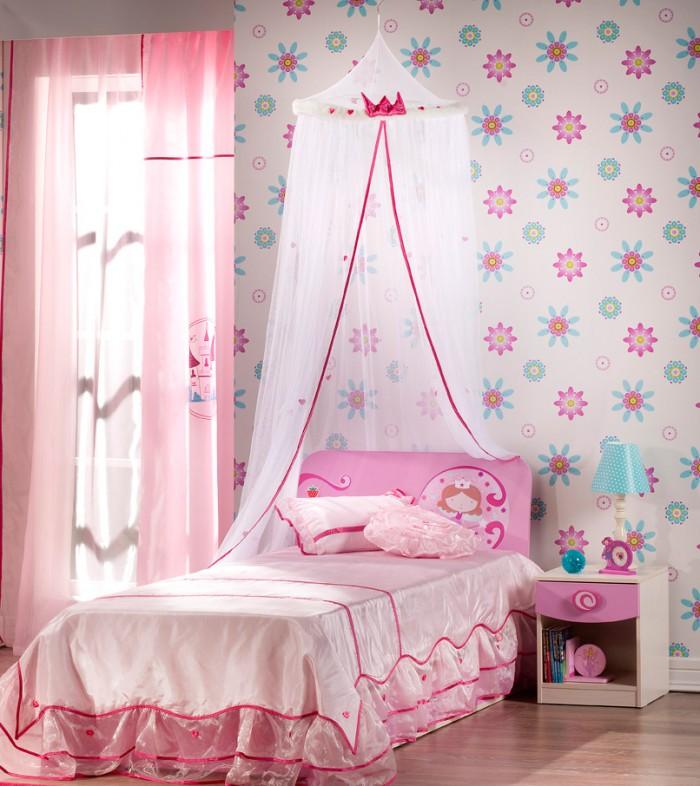 Hogares frescos 100 dise os de habitaciones para ni as for Ideas para decorar habitacion compartida nino nina
