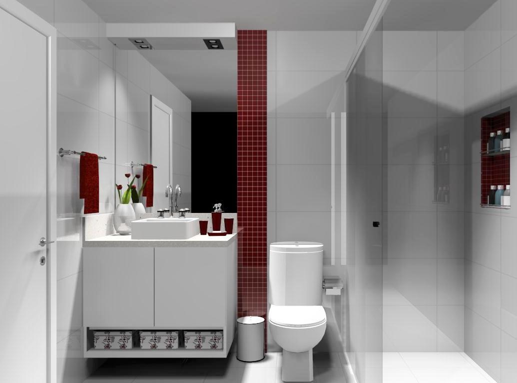 Help na Reforma 10 IDÉIAS DE APLICAÇÃO DE PASTILHAS EM BANHEIRO -> Banheiros Com Pastilhas Na Horizontal