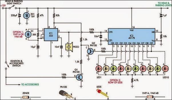 Automatic Circuit Diagram
