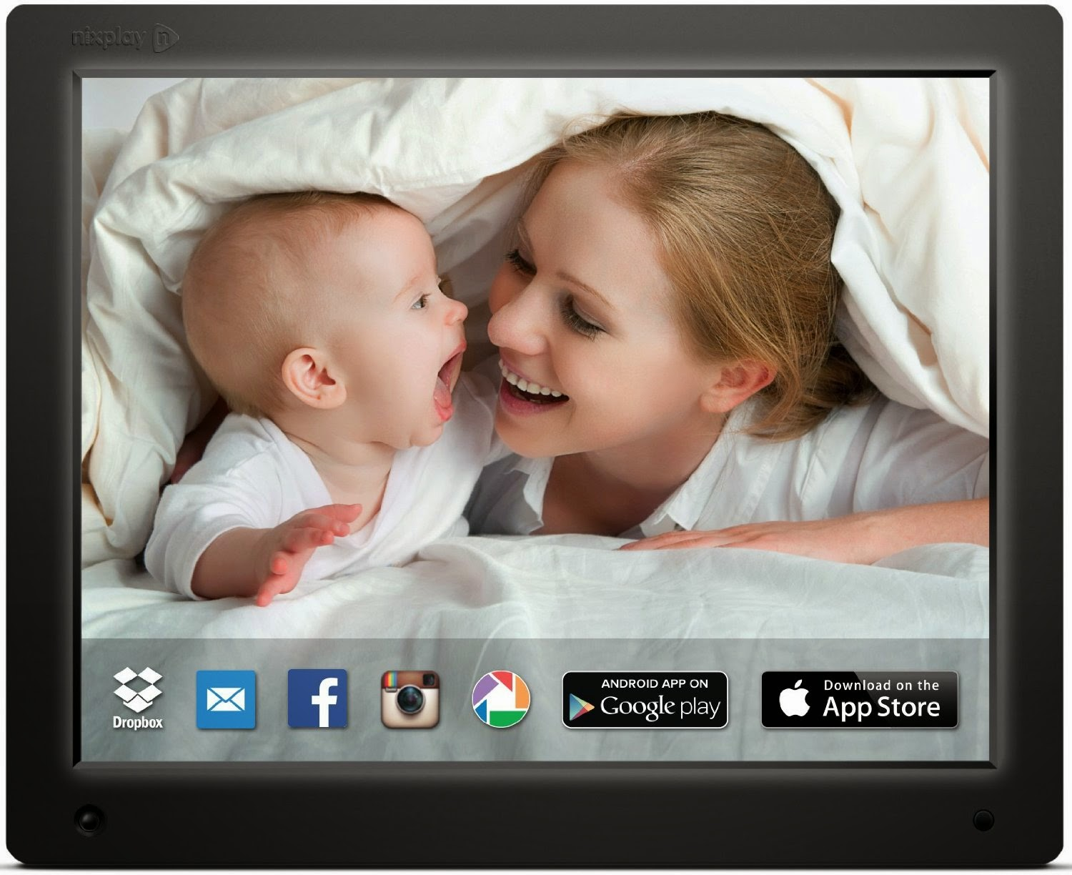 nixplay 12 wi fi cloud digital photo frame review wirelessly send photos