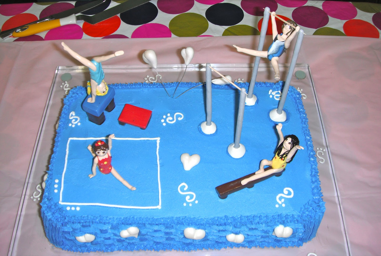 Gymnastic Cake Decorations Uk : P-ART-Y: How to make a Gymnastics Cake