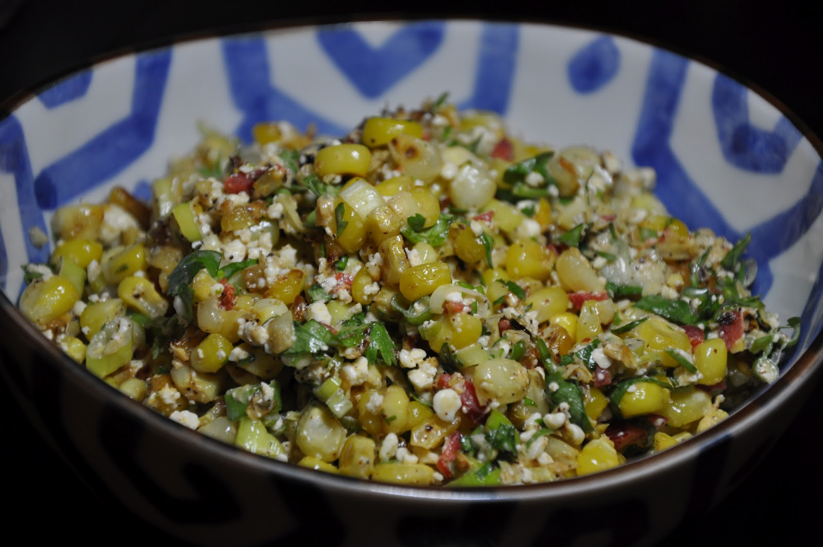 Slice of Rice: Esquites (Mexican Street Corn Salad)